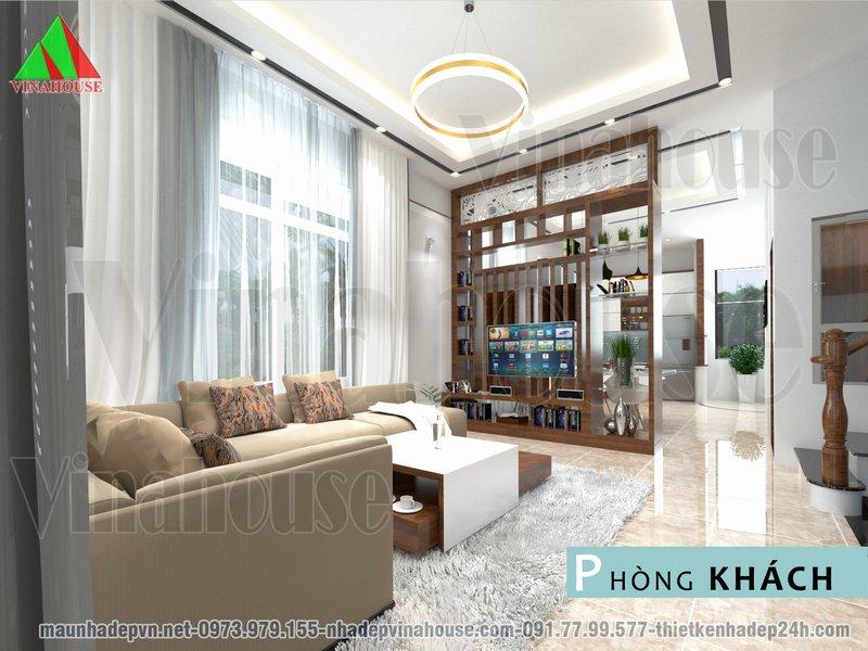 Hình ảnh 3D phòng khách
