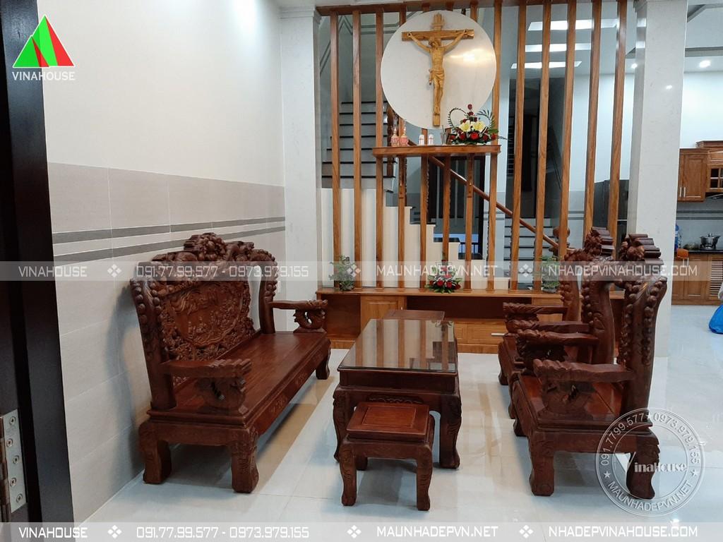 hình thi công biệt thự 2 tầng kết hợp kinh doanh (2)