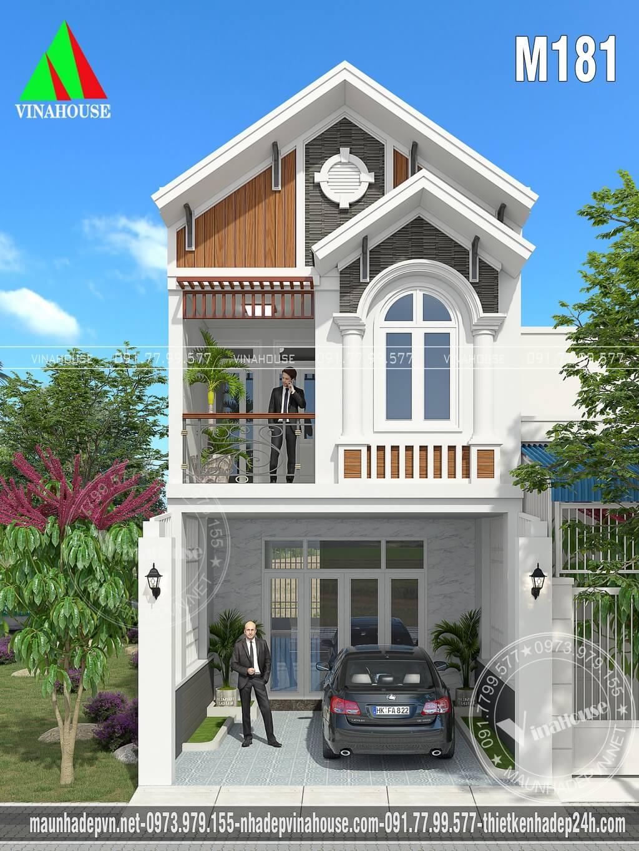 Nhà 2 tầng mái thái 5x20 3 phòng ngủ
