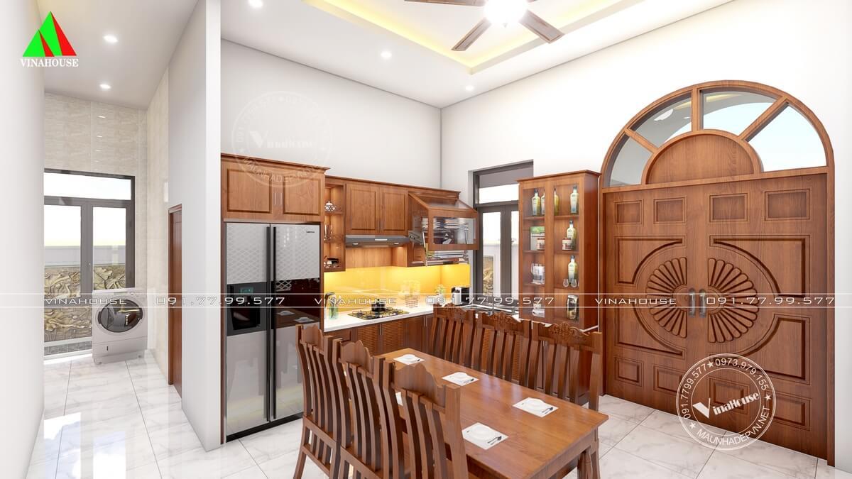 Phòng bếp ăn hiện đại đẹp