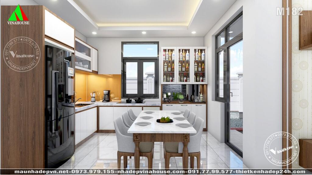 Phòng bếp ăn đẹp