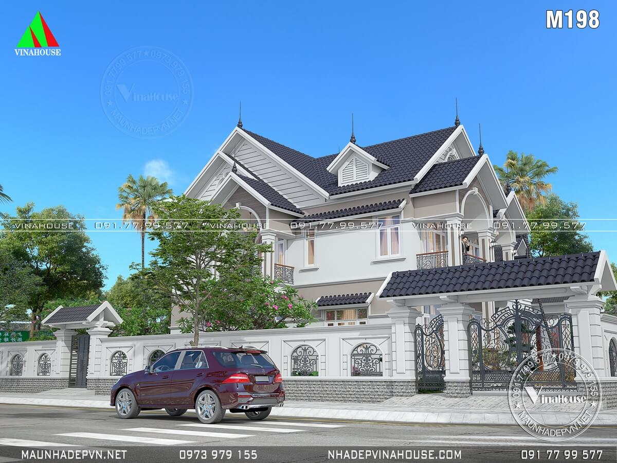 Hình ảnh đầy đủ cổng hàng rào biệt thự đẹp ở Đồng Nai