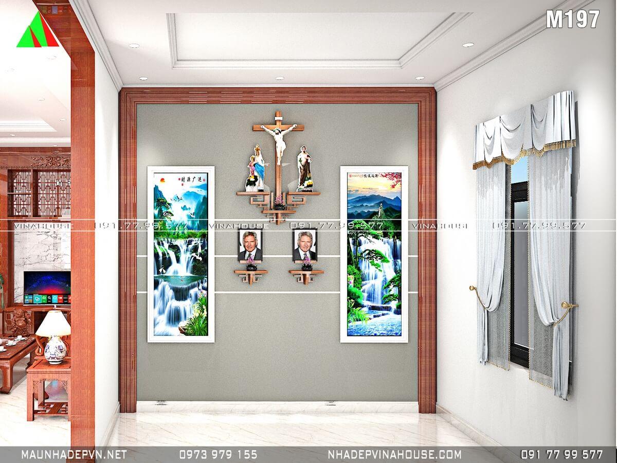 Phòng thờ bên công giáo