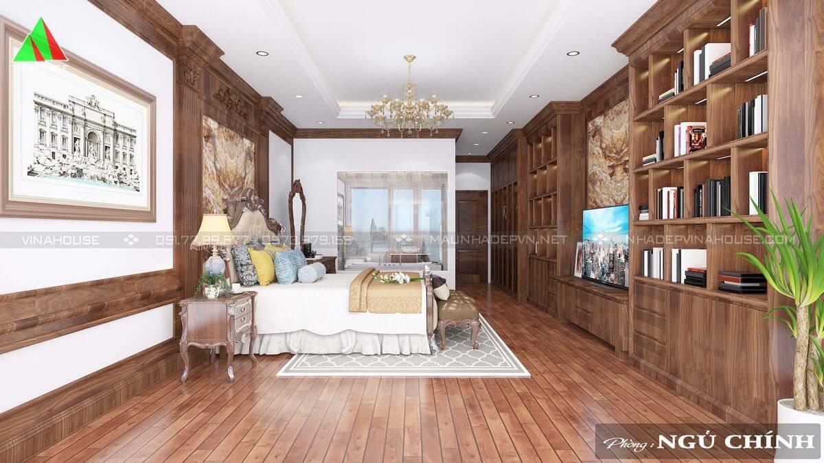 Phòng ngủ chính tân cổ điển