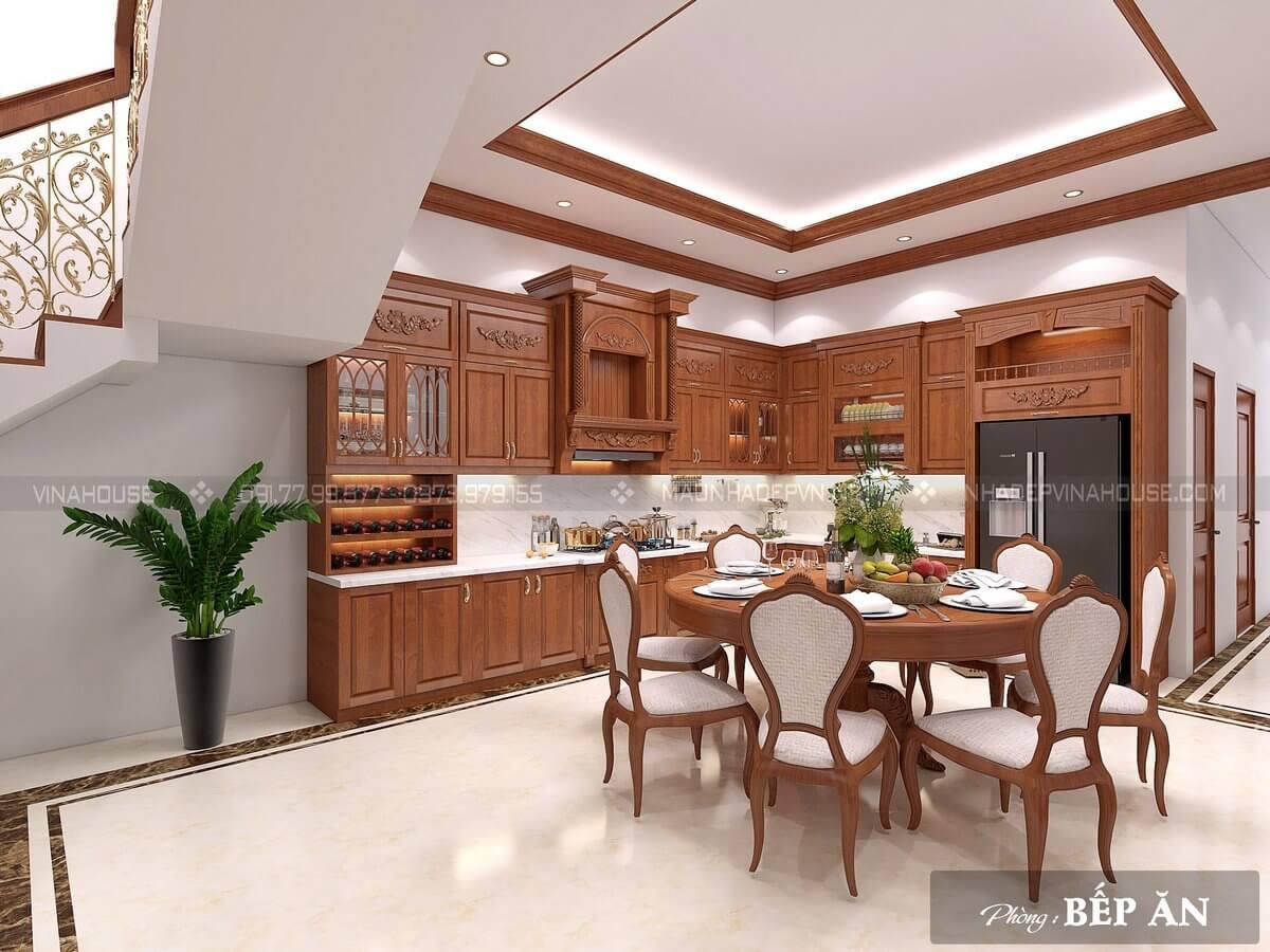 Nội thất phòng bếp nhà phố M259