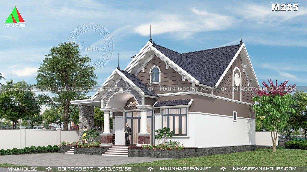 Thiết kế biệt thự tân cổ điển đẹp tại Vinahouse